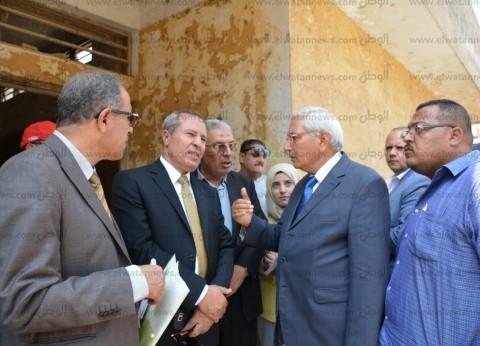 محافظ الدقهلية: اعتماد 15 مليون جنيه لبناء مستشفى مركزي بميت غمر
