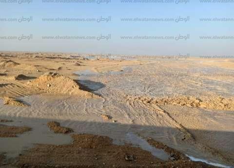 انقطاع التيار الكهربائي في مدينة أبوزنيمة بسبب الأمطار الغزيرة