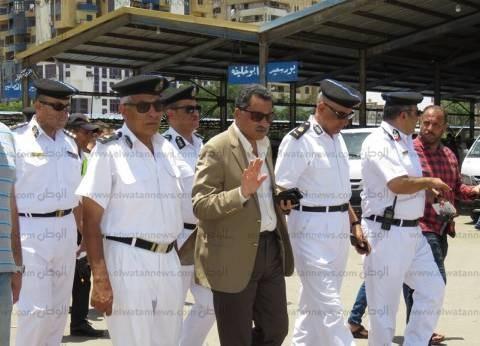 مدير أمن الإسماعيلية يتابع تنفيذ التعريفة الجديدة بالمواقف