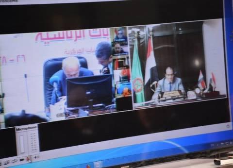 رئيس الوزراء يطمئن على الانتخابات بالدقهلية عبر الفيديو كونفرانس