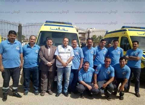 دعم جنوب سيناء بـ5 سيارات إسعاف جديدة لتحسين الخدمة