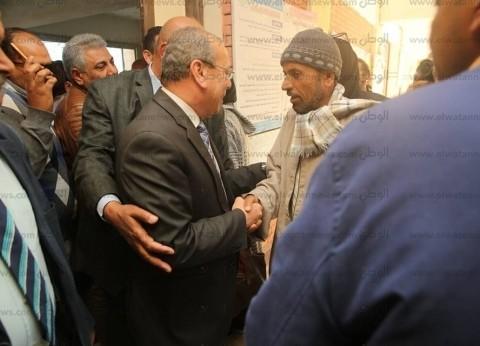 بالصور| محافظ كفر الشيخ يدعو أهل البرلس للمشاركة في الاستفتاء