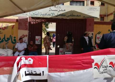 رئيس حي النزهة يتفقد لجان الاستفتاء: لم نرصد أي مخالفات