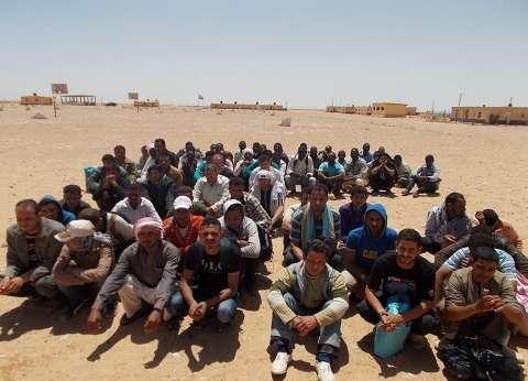 إحباط هجرة غير شرعية لـ44 شخصا خلال تسللهم من السلوم إلى ليبيا
