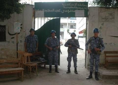 تكثيف أمني لقوات الجيش والشرطة أمام المقار الانتخابية بالطالبية