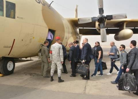 نقل القضاة المشرفين على الانتخابات للأماكن النائية بطائرات عسكرية