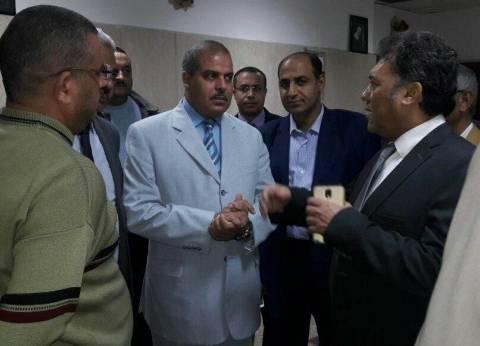 رئيس جامعة الأزهر يتفقد مستشفى سيد جلال بباب الشعرية