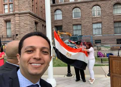 أحمد فايق عن رفع العلم المصري في برلمان أونتاريو: quotمصر كبيرة أويquot