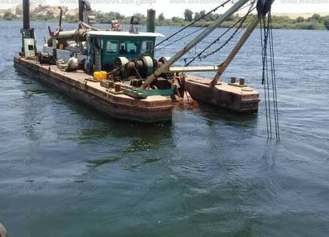 بالصور| النقل النهري: مهمتنا الأساسية رفع كفاءة المسارات الملاحية بنهر النيل