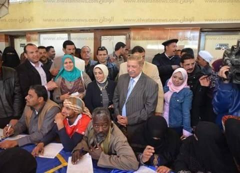 3 عيادات متنقلة وندوات تثقيفية بقرية النصر خلال فعاليات المجلس القومي للسكان بالإسماعيلية