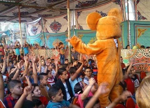 بالصور  احتفالية ضخمة لأهالي الخياطة في أول أيام عيد الفطر