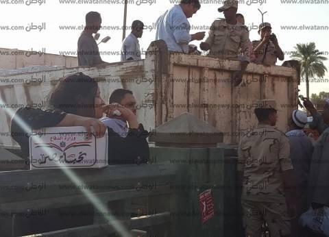 """توزيع 10 آلاف كرتونة """"تحيا مصر"""" بأسيوط خلال ذكرى العاشر من رمضان"""