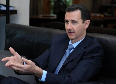 الأسد: الضربات الغربية ستزيد تصميم البلاد على محاربة الإرهاب