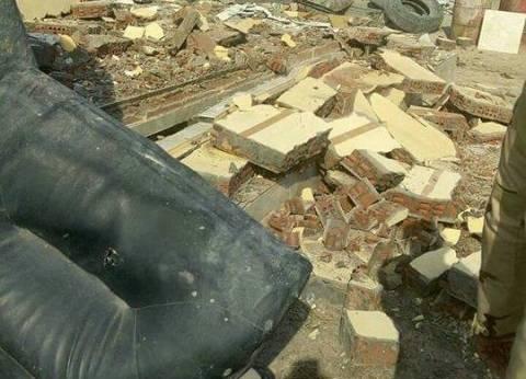 إزالة التعديات على أراض مملوكة للقوات المسلحة بمحمدية دمياط