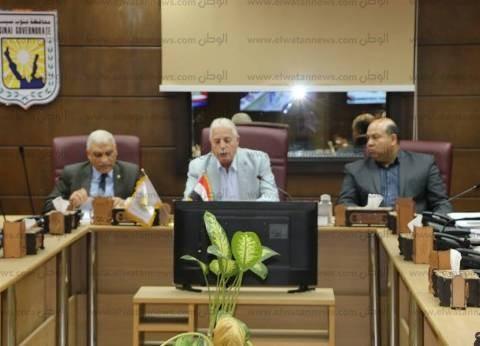 محافظة جنوب سيناء تناقش الترتيبات النهائية للاحتفال بالعيد القومي