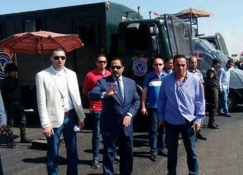 مدير أمن الإسكندرية يتابع الاستعدات لمباراة نهائي كأس مصر
