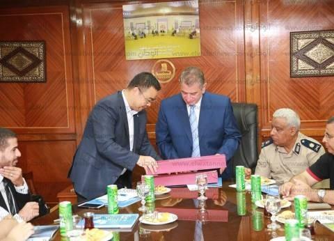 """محافظ كفر الشيخ: تنفيذ المرحلة الأولى من """"مشروع الصرف الصحي"""" بـ22 قرية"""
