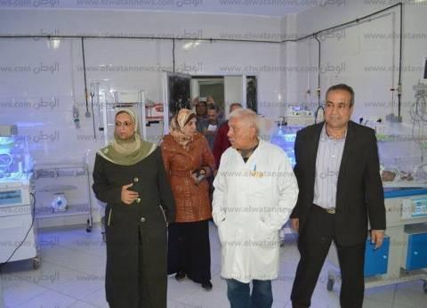 بالصور| وكيل صحة كفر الشيخ تتفقد مستشفى مطوبس المركزي