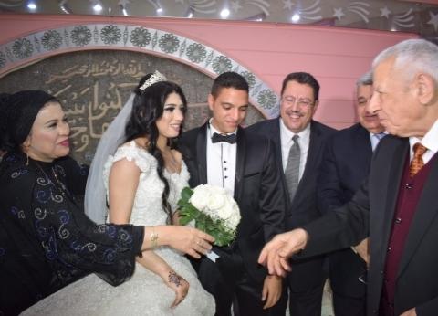 بالصور: رموز الإعلام يشاركون في حفل زفاف نجل أمين عام الأعلى للإعلام