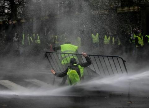 """نيابة باريس: مثول 139 شخصا أمام العدالة بعد مظاهرات """"السترات الصفراء"""""""