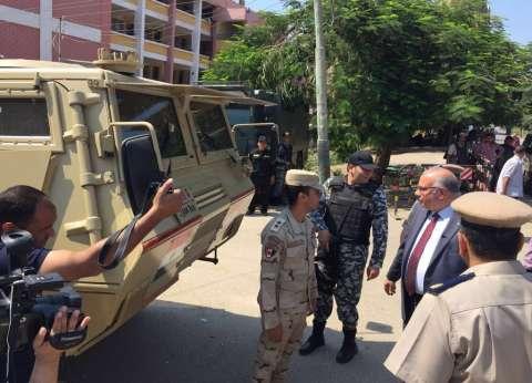 مدير أمن القليوبية يتفقد خدمات تأمين ذكرى 30 يونيو