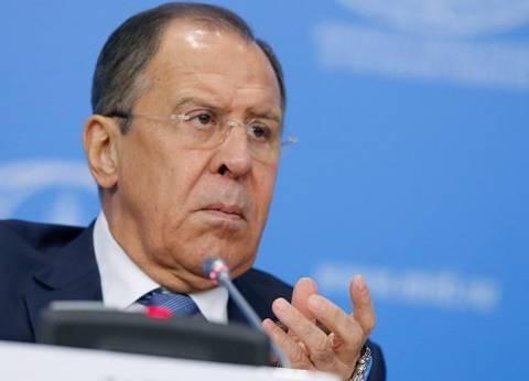 """""""لافروف"""": القضاء على التهديدات الإرهابية يتطلب تكاتف الجميع"""