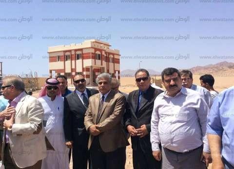 محافظ جنوب سيناء: افتتاح مستشفى طابا وكاترين في مايو