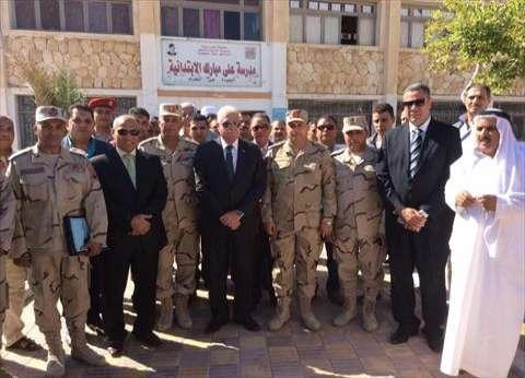 """""""عمليات جنوب سيناء"""": نسبة التصويت بلغت 15.2% حتى الآن"""