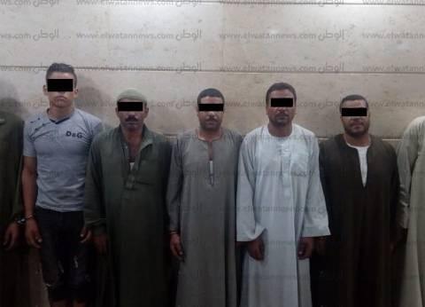 """حبس 7متهمين و""""خفيران"""" بهيئة الآثار 4 أيام في واقعة تنقيب بالفيوم"""