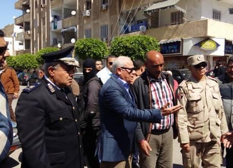 """محافظ بورسعيد يتقدم مشيعي جنازة شهيد """"الواجب الوطني"""""""