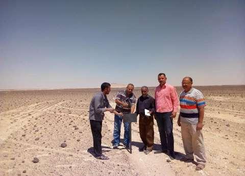 مركز الفرافرة في الوادي الجديد يسترد 333 فدان أملاك الدولة
