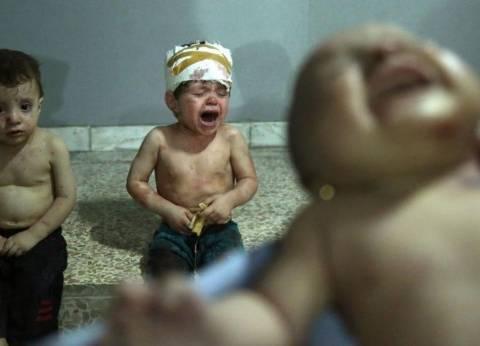 """""""أطفال جوبر"""".. صورة جديدة تجسد أهوال الحرب السورية"""
