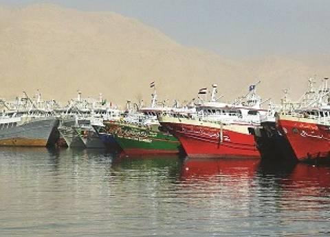 غلق بوغاز البرلس لسوء الطقس في كفر الشيخ