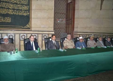 بالصور  محافظ الغربية يشارك في الاحتفال بليلة القدر بمسجد السيد البدوي