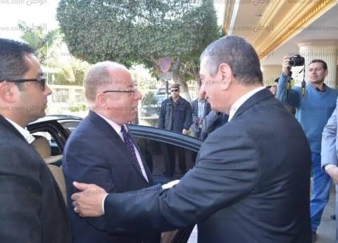 بالصور| وزير الثقافة يصل كفر الشيخ لافتتاح المركز الثقافي