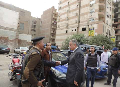 مدير أمن الفيوم يتفقد قوات التأمين الشرطية بدائرتي قسم أول وثاني