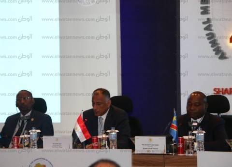 طارق عامر: مستقبل القارة الأفريقية كبير وهناك تحسن في الأداء الاقتصادي