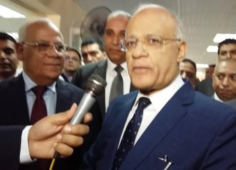 مساعد وزير العدل يفتتح مركز المعلومات بمحكمة بورسعيد الابتدائية
