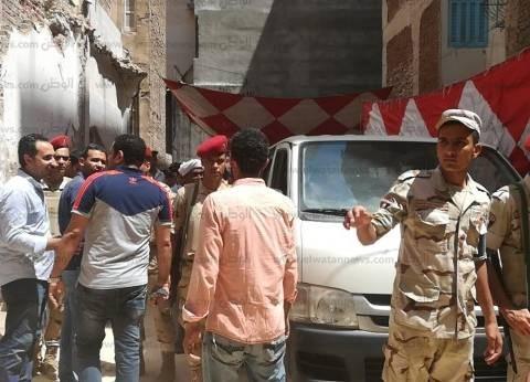 """العثور على سائل أحمر داخل """"تابوت الإسكندرية"""""""
