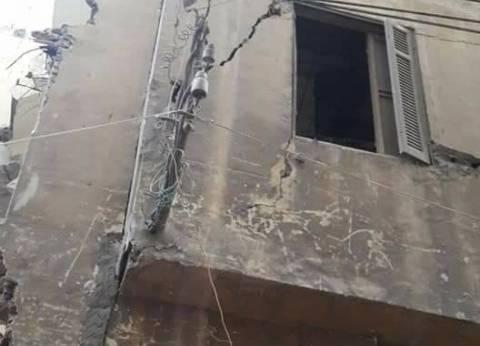 إصابة سيدة وابنها إثر انهيار جزئي لعقار في غرب الإسكندرية