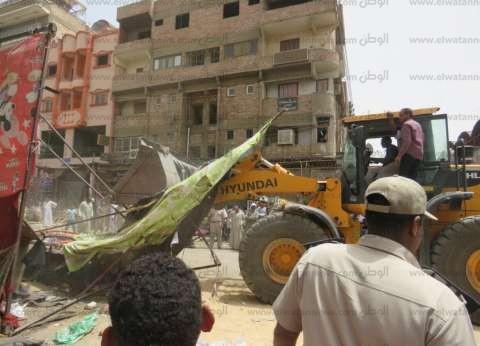 ضبط 345 مخالفة مرافق بأسواق محافظة أسوان