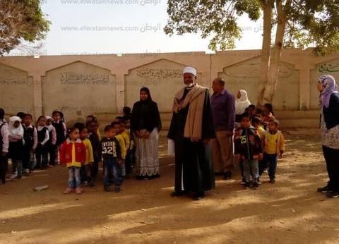 رئيس منطقة أسوان الأزهريةيتفقد روضة ومعهد الفتح المبين بالمحمودية