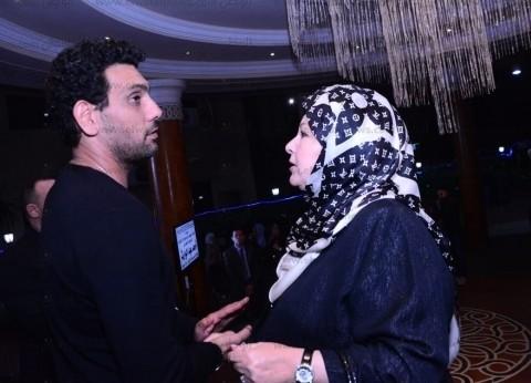 نجوم الفن في عزاء الفنان القدير أحمد عبد الوارث