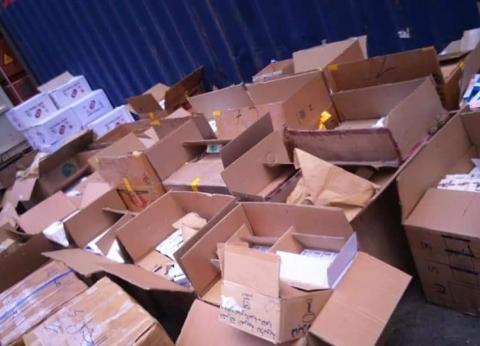 إحباط تهريب 486 كرتونة أدوية عبر الإسكندرية لليبيا