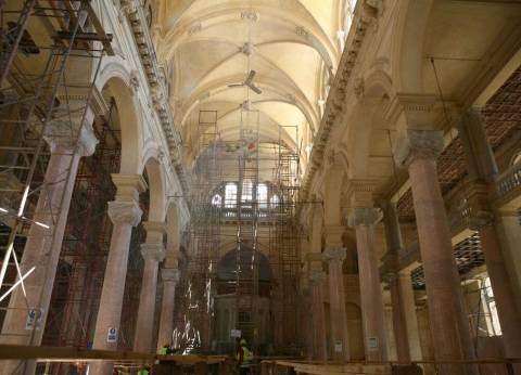 """""""الآثار"""": الانتهاء من 10% من أعمال ترميم المتحف اليوناني"""