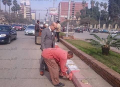سكرتير محافظة الغربية يتفقد أعمال النظافة بطنطا