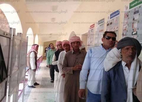 إقبال المواطنين بمدينة سانت كاترين للمشاركة في الانتخابات الرئاسية