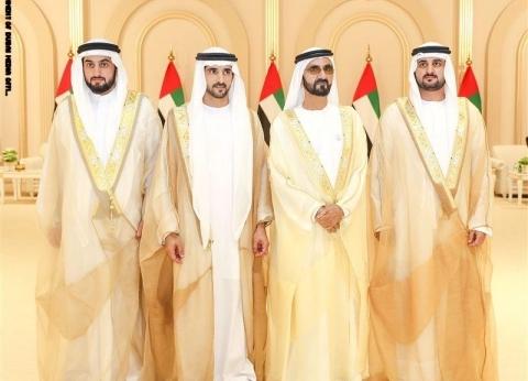 بـquotرقصة العيّالةquot.. دبي تحتفل بزفاف أبناء حاكم دبي الثلاثة