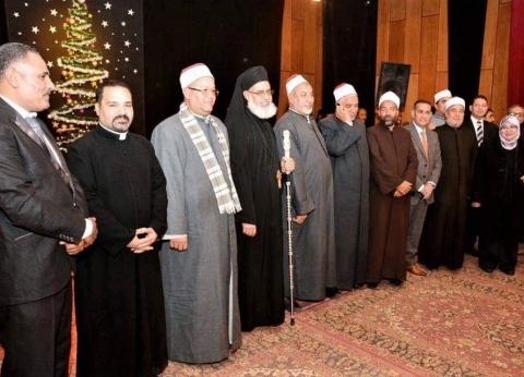مطران المنيا للأقباط الكاثوليك يشارك في احتفالية بعيد الميلاد المجيد