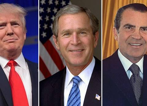 """من """"نيكسون"""" لـ""""بوش"""".. فضائح """"الجمهوريون"""" السياسية تطارد """"ترامب"""""""